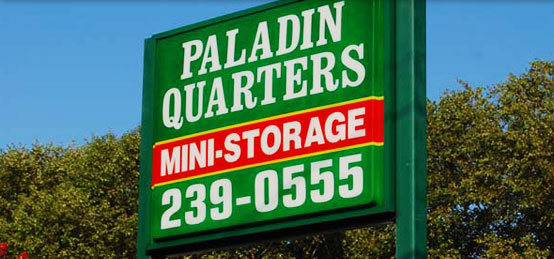 Paladin Quarters Mini-Storage